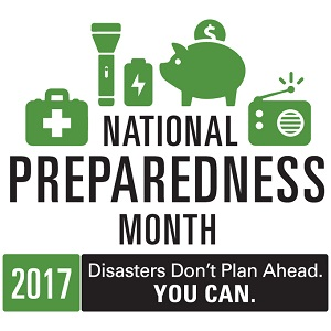 September Safety Tip - National Preparedness Month